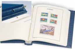 Album DP Perfect à barre rotative de Leuchtturm pour classer ses timbres